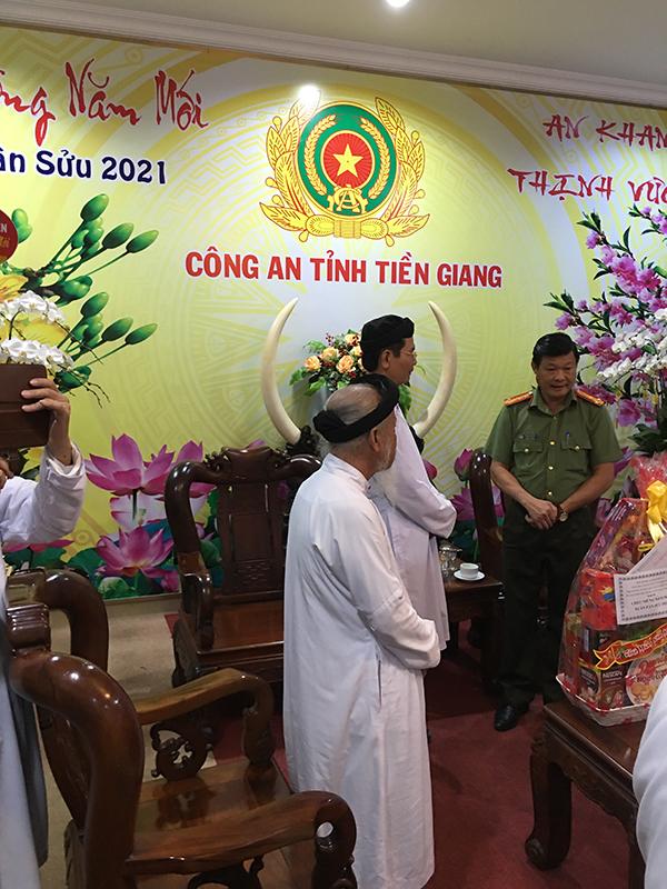 Chúc Tết lãnh đạo tỉnh Tiền Giang
