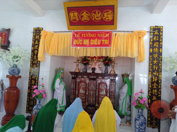 Đàn Trung Thu - Lễ Truy Niệm Đức Mẹ Diêu Tri và Tam vị Tiên Nương