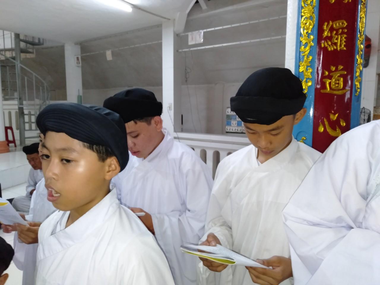 Lễ Khai Niên tai Tòa Thánh Định Tường 2019