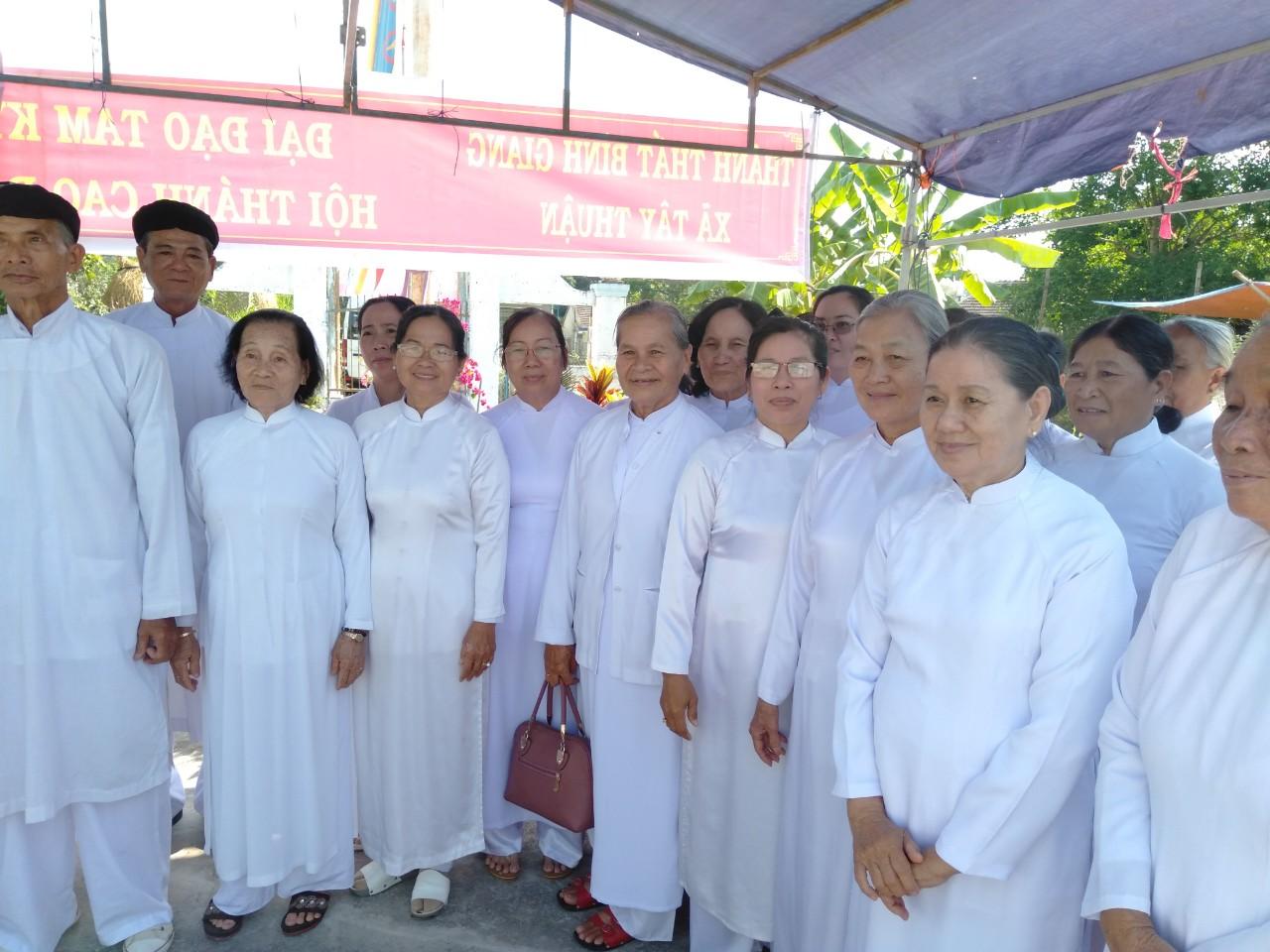 Lễ Khởi Công Trùng Tu Thánh Thất Bình Giang